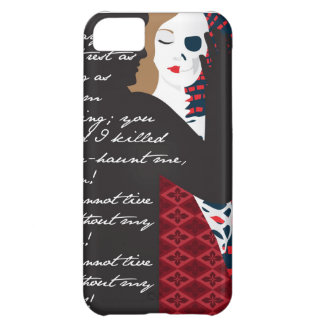 Emily Bronte / Wuthering Height gift design with q Case For iPhone 5C