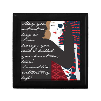 Emily Bronte / Wuthering Height gift design with q Jewelry Box