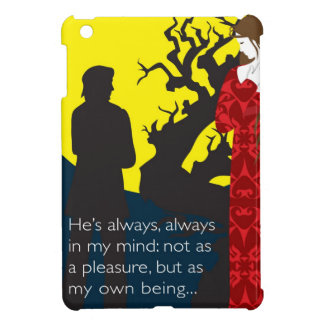Emily Bronte / Wuthering Height gift design with q Cover For The iPad Mini