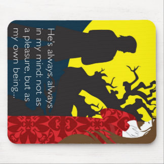 Emily Bronte / Wuthering Height gift design with q Mouse Pad