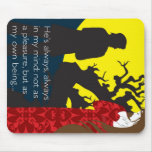 Emily Bronte / Wuthering Height gift design with q Mouse Pads