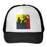 Emily Bronte / Wuthering Height gift design with q Trucker Hat