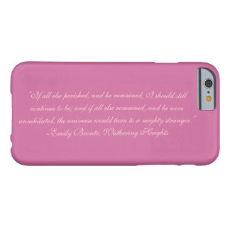 Emily Bronte, Wuthering Heights Quote2 iPhone Case