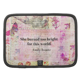 Emily Brontë, Wuthering Heights quote Planner