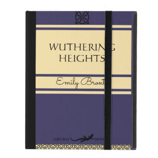 Emily Bronte Wuthering Heights Vintage Style Book iPad Cover