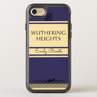 Emily Bronte Wuthering Heights Vintage Style Book OtterBox Symmetry iPhone 8/7 Case