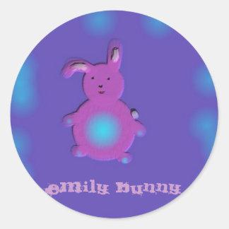 , Emily Bunny Stickers