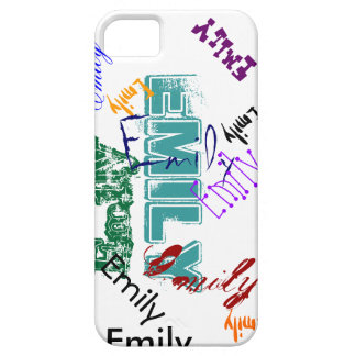 Emily Case iPhone 5 Name Case