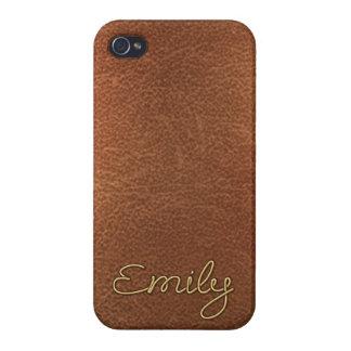 """Emily conocida de oro "" iPhone 4 Protector"