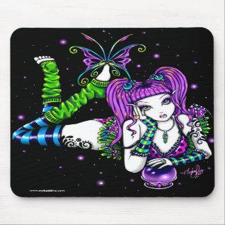 Emily Crystal Ball Rainbow Fairy Mousepad