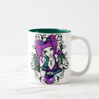 Emily Crystal Ball Rainbow Fairy Mug