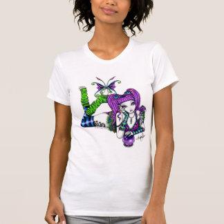 EMILY Cute Rainbow Butterfly Fairy Top Tee Shirt
