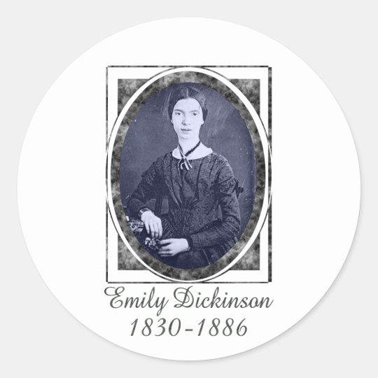 Emily Dickinson Classic Round Sticker