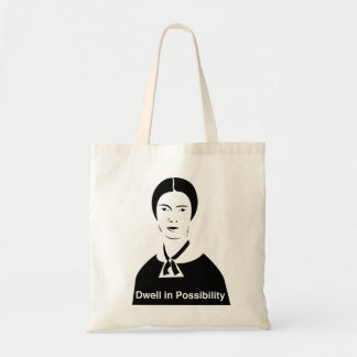 Emily Dickinson Dwell in Possibility Tote Bag