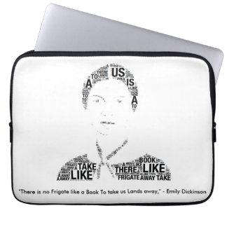 Emily Dickinson Laptop Case