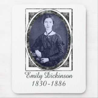 Emily Dickinson Mouse Pad
