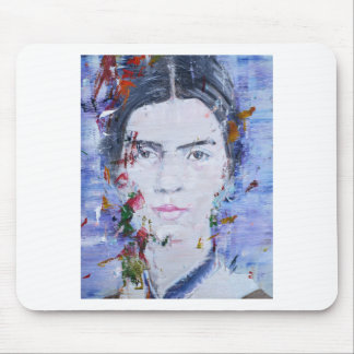 emily dickinson - oil portrait.1 mouse pad