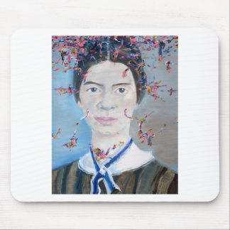 emily dickinson - oil portrait.2 mouse pad