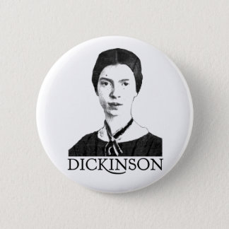 Emily Dickinson Pinback Button