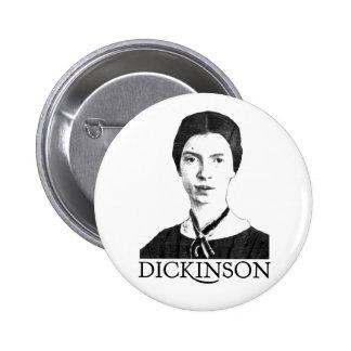 Emily Dickinson Pinback Button