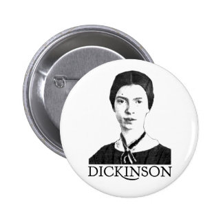Emily Dickinson Pinback Buttons
