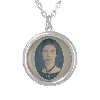 Emily Dickinson portrait necklace