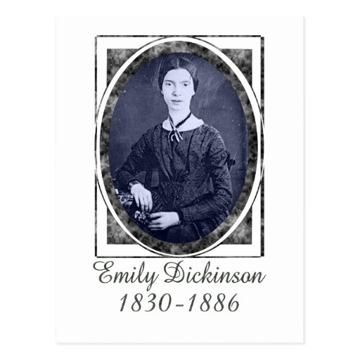 Emily Dickinson Postcard