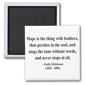Emily Dickinson Quote 1a magnet
