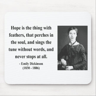 Emily Dickinson Quote 1b Mouse Pad