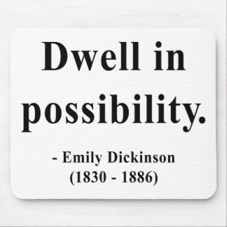 Emily Dickinson Quote 2a Mouse Pad