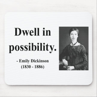 Emily Dickinson Quote 2b Mouse Pad