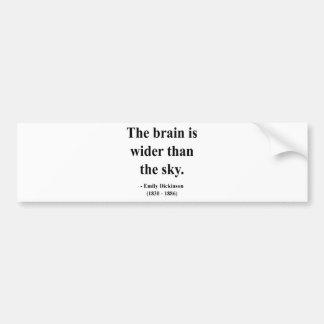 Emily Dickinson Quote 3a Car Bumper Sticker