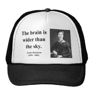 Emily Dickinson Quote 3b Trucker Hats