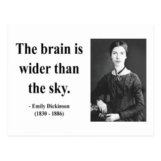 Emily Dickinson Quote 3b Postcard