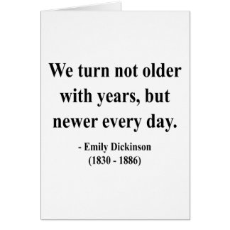 Emily Dickinson Quote 4a Card