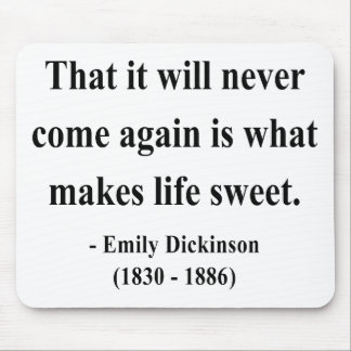 Emily Dickinson Quote 5a Mouse Pad