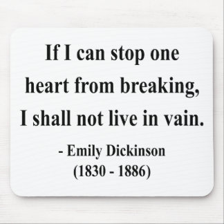 Emily Dickinson Quote 6a Mouse Pad