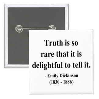 Emily Dickinson Quote 7a Pin