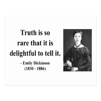 Emily Dickinson Quote 7b Post Card
