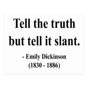 Emily Inson Quotes   Quotes Emily Dickinson Postcards Zazzle