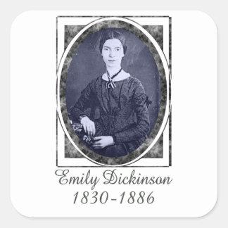 Emily Dickinson Square Sticker