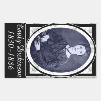 Emily Dickinson Rectangular Stickers