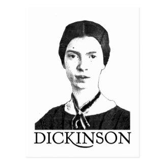 Emily Dickinson Tarjeta Postal