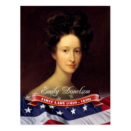 Emily Donelson, First Lady of the U.S. Post Card