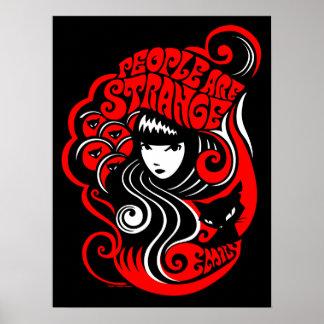 Emily el extraño: La gente es extraña Póster