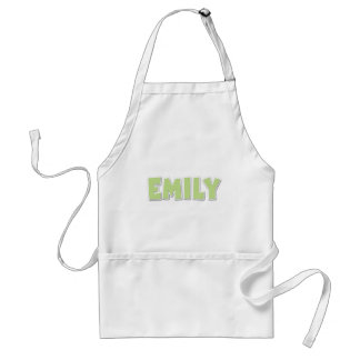 Emily Green Popout Adult Apron