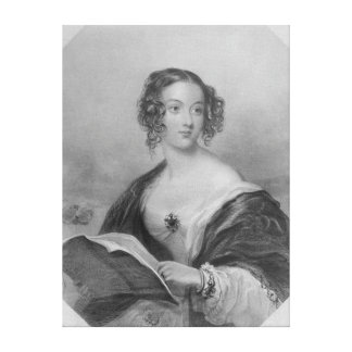 Emily Mary, Countess Cowper Canvas Print