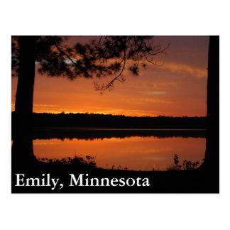 Emily, Minnesota Tarjeta Postal