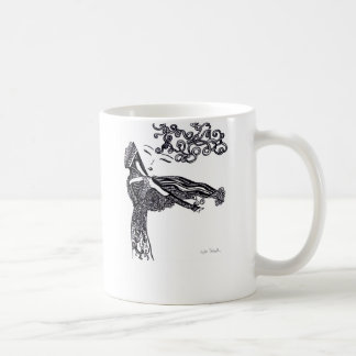 Emily Classic White Coffee Mug