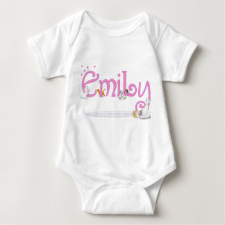 EMILY / personalised name illustration Tshirts